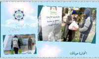 معاً في وجه الأزمات.. الجولة الثانية من تقديمات مؤسسة نماء للعائلات الأشد فقراً