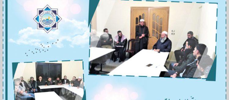 أينقص الدين وأنا حي؟!.. جلسة توجيهية للشباب في البقاع مع الشيخ يحيى الداعوق