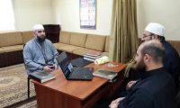 دار القرآن تجيز الأخ الشيخ بهاء العلي بالقراءات العشر من طريقي الشاطبية والدرة
