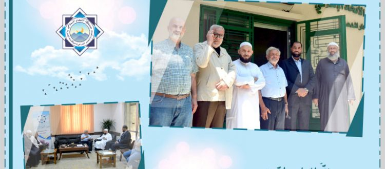 استقبال وفد المنظمة اللبنانية للعدالة في مركز الاتحاد الإسلامي - بيروت