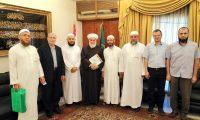 وفد جمعية الاتحاد الإسلامي يزور سماحة مفتي طرابلس مهنئاً