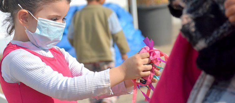 مؤسسة نماء: توزيع ملابس للعائلات المستحقة ضمن حملة
