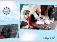 مؤسسة نماء: مساعدات مالية لجميع المتضررين في مخيم المنية الذي التهمته النيران