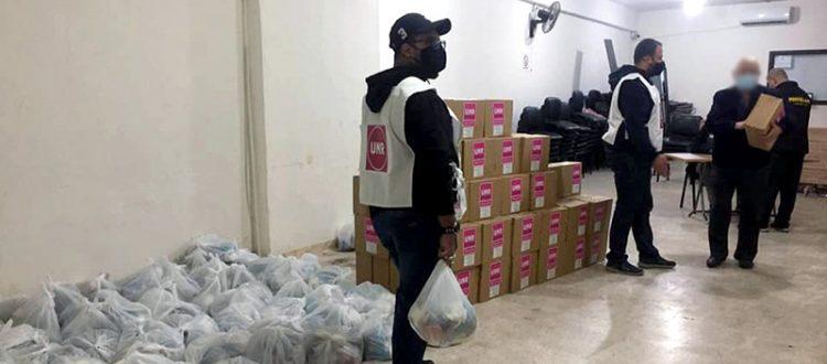 مؤسسة نماء: توزيع حصص غذائية على أكثر 100 عائلة متعففة في بيروت بالتعاون مع UMR