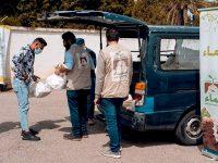 مؤسسة نماء توزّع 450 سلة معقّمات للمتضررين من تفجير مرفأ بيروت