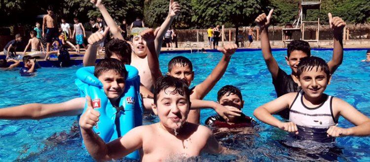 رحلة ترفيهية إلى عيون السمك لطلاب دورتَي جيل القرآن ونادي الفرقان الصيفي
