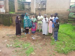 حفر البئر التاسع لهذا العام في غانا