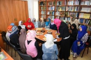 حفل تعريفي ول رحلة الإسراء والمعراج للمهتديات في المنتدى للتعريف بالإسلام