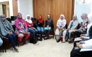 احتفال المهتديات في المنتدى للتعريف بالإسلام بقرب حلول عيد الأضحى-002