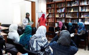 احتفال المهتديات في المنتدى للتعريف بالإسلام بقرب حلول عيد الأضحى-004