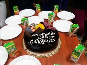 جيل القرآن في طرابلس يحتفل بالطالبة عبير إدلبي لارتدائها الحجاب