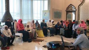 حفل تخريج المهتديات الإثيوبيات في المنتدى للتعريف بالإسلام-005