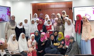 حفل تخريج المهتديات الفلبينيات (2) في المنتدى للتعريف بالإسلام-007