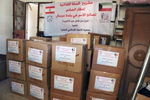 توزيع طرود غذائية في عرسال-004