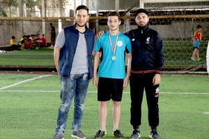 تتويج الفرق الفائزة بالمراكز الأولى بدوري الليغا الأول في أكاديمية الفرقان FFA