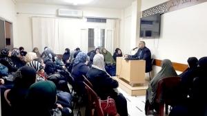 نعمة العافية.. محاضرة لعائلات مؤسسة نماء في طرابلس ألقاها أ. طه ياسين