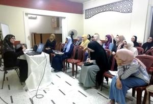 وقفات ربانية مع يوم عرفة ويوم النحر.. محاضرة للشابات في طرابلس ألقتها أ. دلال عوض