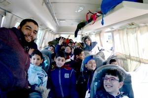 رحلة ثلجية إلى جبال الأرز لفتيان وفتيات عالم الفرقان في طرابلس