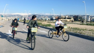 beirut by bike.. نشاط ترفيهي لأبناء عالم الفرقان في بيروت