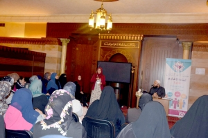 اللقاء الأول من سلسلة لقاءات (بوصلة الحياة) للشابات في صيدا مع الشيخ حسن قاطرجي