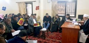 20181226-الشيخ صالح الغرسي في مركز جمعية الاتحاد الإسلامي - عكار
