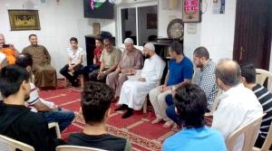 الشيخ حسن قاطرجي يحلّ ضيفاً وخطيباً في مسجد دار الأرقم - صيدا