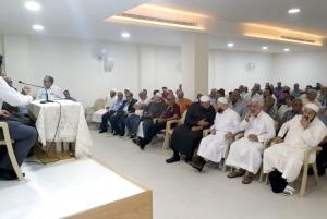د. زغلول النجار يلقي محاضرة (الكون محراب التدبّر في آيات الله) في الجيّة
