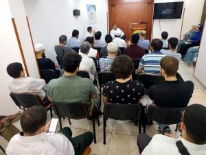 لقاء حواري مع الداعية المهندس فاضل سليمان في المنتدى للتعريف بالإسلام - بيروت