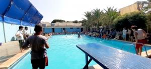 رحلة مائية إلى مسبح الكمال لطلاب عالم الفرقان في طرابلس
