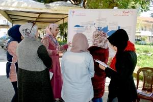 هِيَ.. معرض مصغّر حول أهم قضايا المرأة في الجامعة اللبنانية - طرابلس   المنتدى الشبابي   حنايا