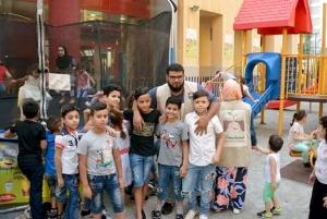 إفطار لأبناء مؤسسة نماء في بيروت - الروشة