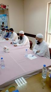 استقبال وفد من مشايخ عكار يتقدمهم رئيس هيئة علماء المسلمين في لبنان
