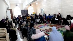 جلسة إيمانية للصبايا في طرابلس - المنتدى الشبابي