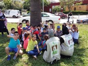 نشاط ترفيهي لأبناء مؤسسة نماء في طرابلس بمناسبة قدوم شهر رمضان المبارك