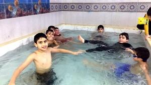 رحلة لطلاب عالم الفرقان في بيروت إلى مسبح ذي النورين