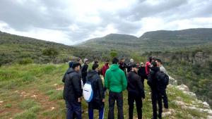 مسير للمنتدى الشبابي في مزرعة الشوف ومرج بسري