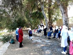 رحلة للمهتديات عبر المنتدى للتعريف بالإسلام إلى منتزه الكينايات في صيدا