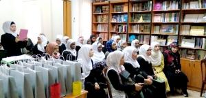المنتدى للتعريف بالإسلام يحتفل مع المهتديات بعيد الأضحى