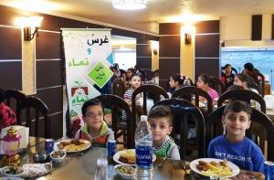 إفطار لأبناء مؤسسة نماء في طعم الصدّيق - طرابلس