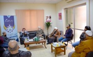 جمعية الاتحاد الإسلامي تستقبل رئيس رابطة علماء فلسطين وتبحث أطر التعاون والتنسيق