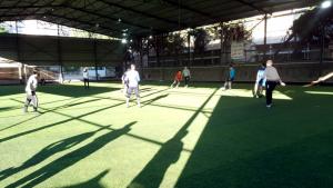 نشاط تعبدي-رياضي للشباب في طرابلس بعد صلاة الفجر