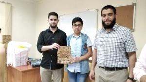 تكريم المتميزين خلال فترة الحجر الصحي في دار القرآن الكريم- طرابلس