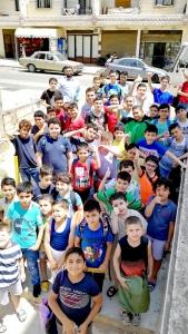 """النشاط الترفيهي الأول لطلاب """"جيل القرآن"""" و""""نادي الفرقان الصيفي"""" في طرابلس"""