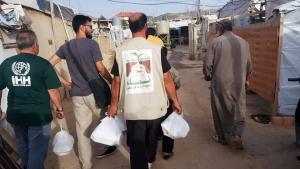 150 عائلة تستفيد من تقديمات مؤسسة نماء الرمضانية في مجدل عنجر - البقاع
