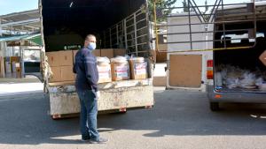 مؤسسة نماء: توزيع 200 وجبة باردة في الكرنتينا