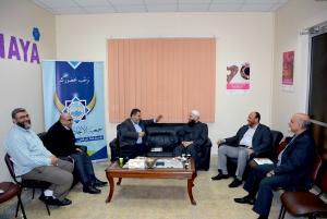 جمعية الاتحاد الإسلامي تستقبل وفداً من حركة المقاومة الإسلامية حماس من غزّة