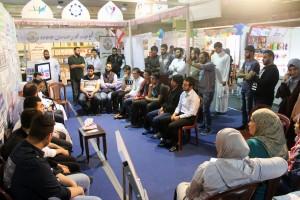 لقاء مفتوح مع الشيخ حسن قاطرجي في معرض الكتاب – طرابلس